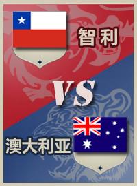 [甘伯杯門票預訂] 2017-6-25 18:00 智利 vs 澳大利亞