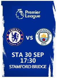 [紀念賽門票預訂] 2017-9-30 17:30 切爾西 vs 曼徹斯特城(國慶套票)
