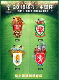 [中國杯門票預訂] 2018-3-23 19:35 烏拉圭 vs 捷克
