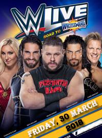 [WWE門票預訂] 2018-3-30 19:30 2018年摔跤狂熱大賽